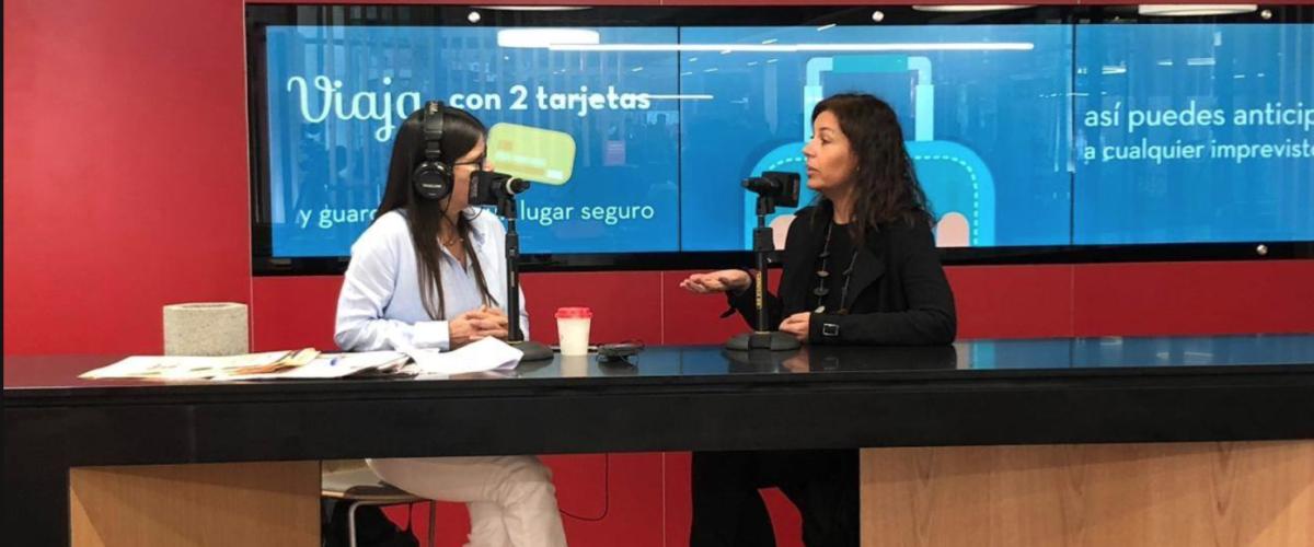 Catalina Izquierdo en Radio Zero