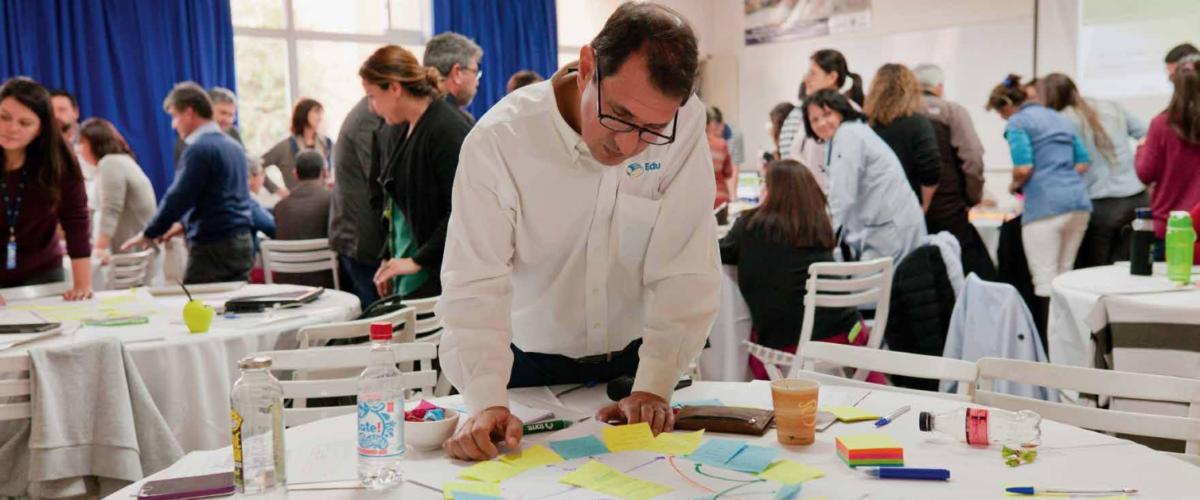 Entrevista realizada por Hacer Familia Chile a Gilberto Pinzón