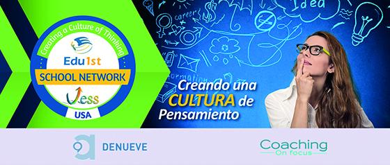 Edu1st, Denueve y Coaching On focus firman un convenio para introducir la Cultura de Pensamiento VESS en las aulas de la zona centro de España