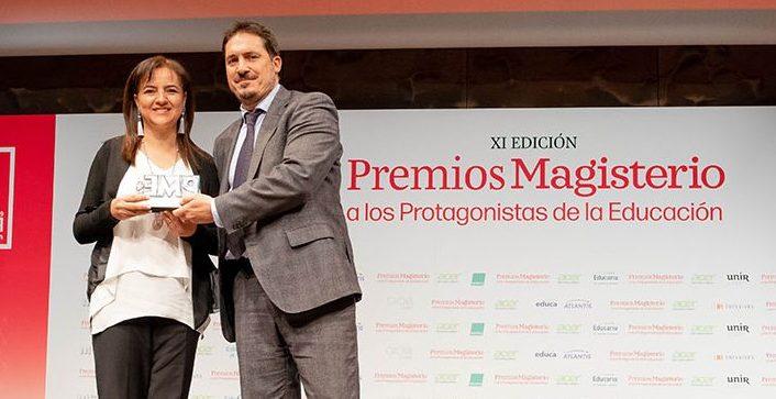 Premios Magisterio premia a VESS como Modelo Educativo Integral.