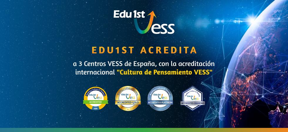 Edu1st acredita a 3 Instituciones educativas de España en la construcción de una Cultura de Pensamiento VESS
