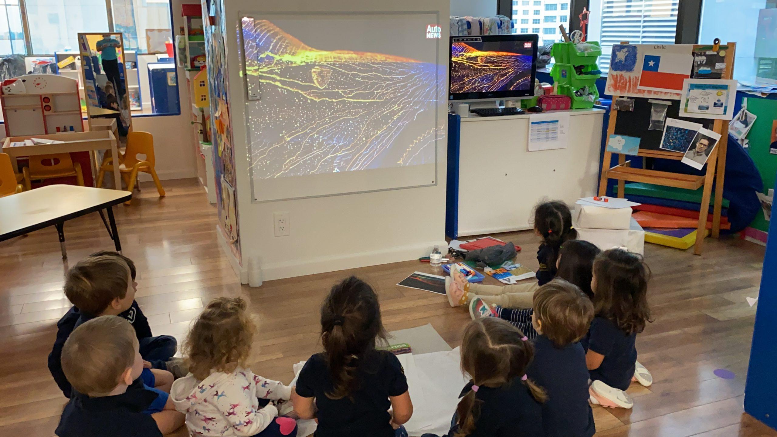 En Edu1st.Preschools los niños aprenden sobre un nuevo artista cada mes