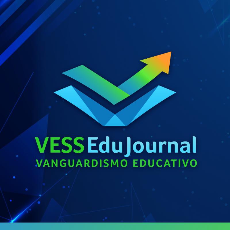 logo de la revista vess edujournal, vanguardismo educativo. Basada en educación y neurociencias