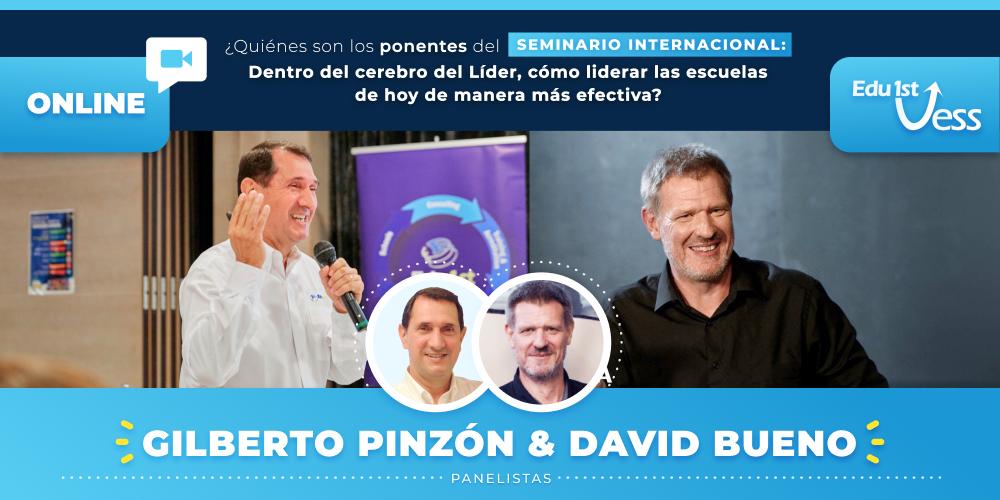 2 Líderes en Neuroeducación, David Bueno y Gilberto Pinzón, nos hablan de cómo podemos aprender a liderar instituciones educativas de una manera más efectiva.